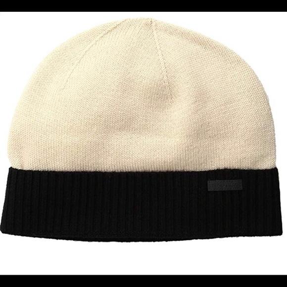 Nautica Sandy Bar Black Beanie Hat 315414d8b8a